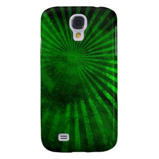 Caja verde cósmica 3G/3GS del iPhone Funda Para Galaxy S4