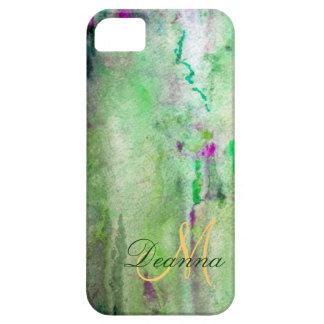 Caja verde de Barely There Iphone 5 de la niebla iPhone 5 Case-Mate Funda
