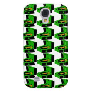 Caja verde de Houndstooth SamsungGalaxy del Funda Para Galaxy S4