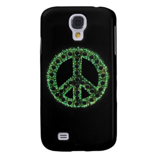 Caja verde de IPhone 3 de la paz