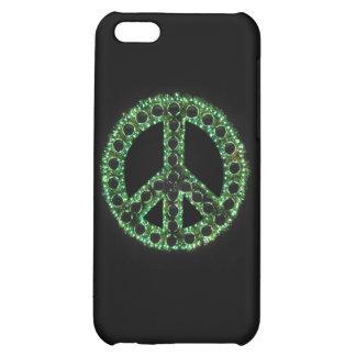 Caja verde de IPhone 4 de la paz