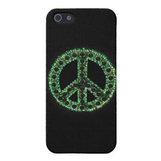 Caja verde de IPhone 4 de la paz iPhone 5 Carcasa