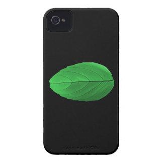 Caja verde de IPhone de la hoja Case-Mate iPhone 4 Protectores