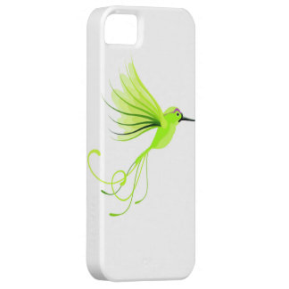 Caja verde de Iphone del pájaro iPhone 5 Case-Mate Cárcasa