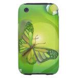 Caja verde de la casamata del iPhone 3 de la marip Tough iPhone 3 Protector