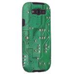Caja verde de la galaxia S3 de la textura 1 de la  Galaxy S3 Coberturas