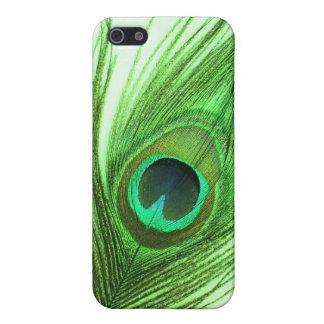 Caja verde de la mota del iPhone 4/4s de la pluma  iPhone 5 Funda