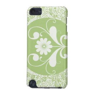 Caja verde de la mota del tacto de iPod Funda Para iPod Touch 5G