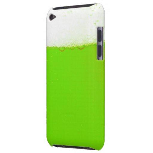 Caja verde de la protección del tacto de iPod de l Barely There iPod Cárcasa