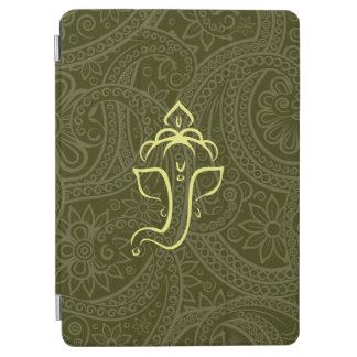 Caja verde del aire del iPad de Ganesh Cover De iPad Air
