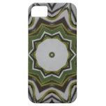 Caja verde del caleidoscopio iPhone-5 de la vid iPhone 5 Case-Mate Protector