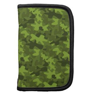 Caja verde del folio del planificador del día del