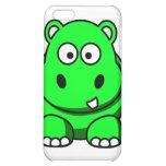 Caja verde del hipopótamo