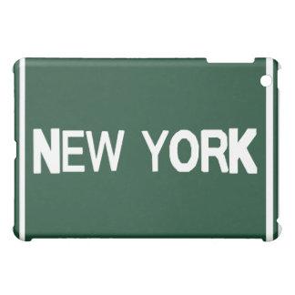 Caja verde del iPad de Nueva York