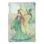 Caja verde del iPad del arte de la fantasía de la  iPad Mini Coberturas