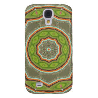 Caja verde del iPhone 3 de la mota de la blanco
