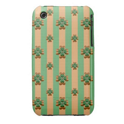 Caja verde del iPhone 3G/3GS de Irlanda de los Case-Mate iPhone 3 Carcasas