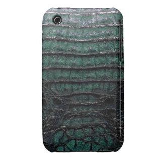 Caja verde del iPhone 3G/3GS de la piel del iPhone 3 Case-Mate Protector