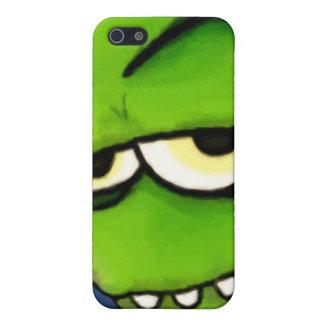 Caja verde del iPhone 4 de Gremlin iPhone 5 Cárcasas