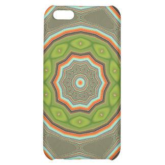 Caja verde del iPhone 4 de la mota de la blanco