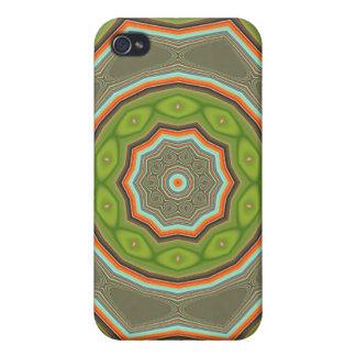 Caja verde del iPhone 4 de la mota de la blanco iPhone 4/4S Carcasas