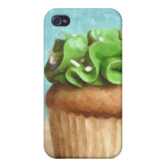 Caja verde del iPhone 4 de la pintura de la foto d iPhone 4 Coberturas