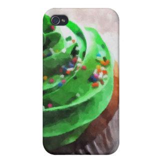 Caja verde del iPhone 4 de la pintura de la foto d iPhone 4 Carcasa