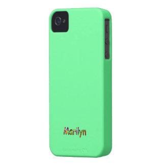 Caja verde del iphone 4 de los accesorios del iPhone 4 Case-Mate protectores