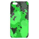 Caja verde del iPhone 4 del camuflaje