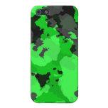 Caja verde del iPhone 4 del camuflaje iPhone 5 Protector