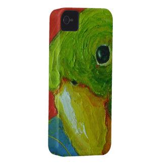 Caja verde del iPhone 4 del loro iPhone 4 Case-Mate Coberturas