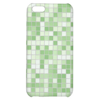 Caja verde del iPhone 4 del mosaico