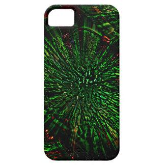 Caja verde del iPhone 5 5S del hielo