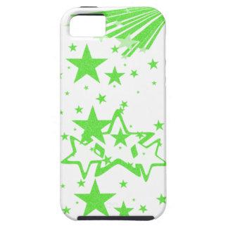 caja verde del iphone 5 de la estrella iPhone 5 funda
