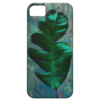Caja verde del iPhone 5 de la hoja Funda Para iPhone SE/5/5s