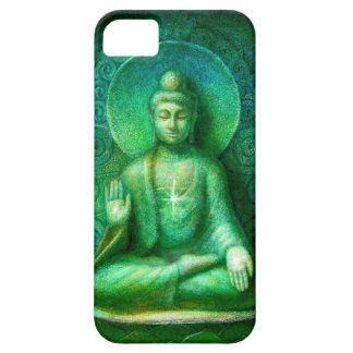 Caja verde del iPhone 5 de la meditación del zen d iPhone 5 Coberturas