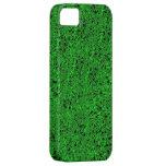 Caja verde del iphone 5 del brillo apenas iPhone 5 fundas