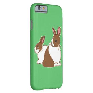 Caja verde del iPhone 6/6s de los conejos Funda Barely There iPhone 6