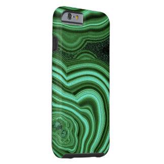 """Caja verde del iPhone 6 de la malaquita "" Funda Resistente iPhone 6"