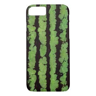 Caja verde del iPhone 7 de la corteza de la sandía Funda iPhone 7