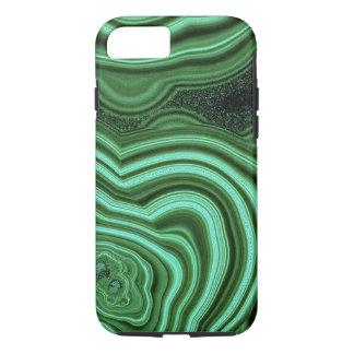 """Caja verde del iPhone 7 de la malaquita "" Funda iPhone 7"
