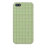 Caja verde del iPhone de la guinga iPhone 5 Coberturas
