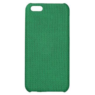 Caja verde del iPhone de Stockinette