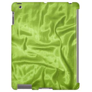 Caja verde del Satén-iPad