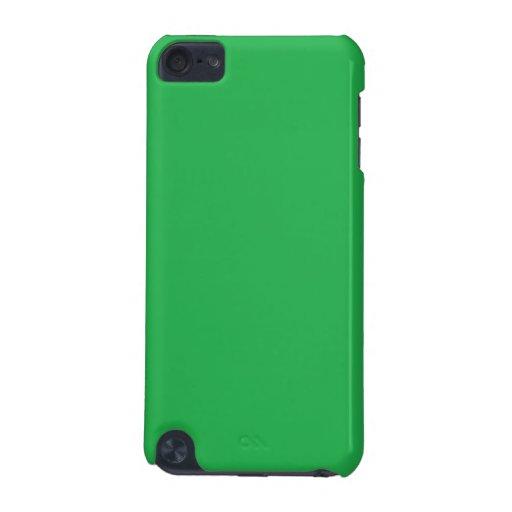 Caja verde del tacto de iPod