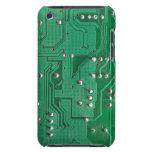 Caja verde del tacto de iPod de la textura 1 de la iPod Touch Case-Mate Protectores