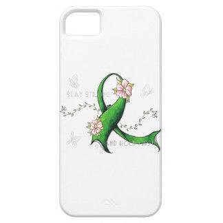 Caja verde del teléfono de la enfermedad de Lyme iPhone 5 Fundas