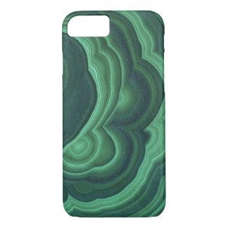 """Caja verde del teléfono de la malaquita "" Funda iPhone 7"