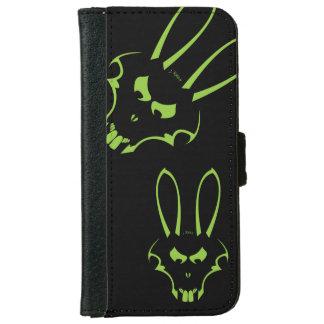 Caja verde del teléfono del logotipo de J.Rabbit Carcasa De iPhone 6