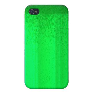 Caja verde divertida del iPhone de la cerveza iPhone 4 Carcasa